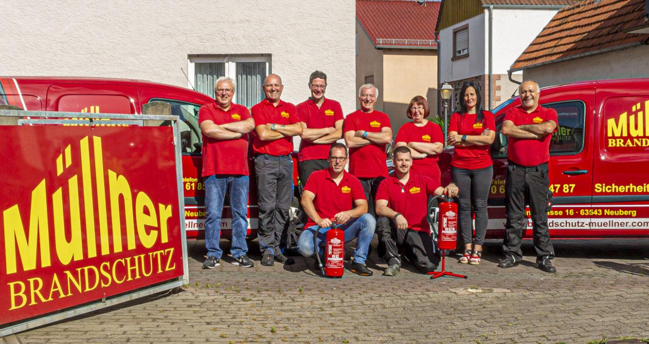 Müllner Brandschutz Team